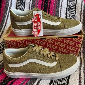 Vans Old Skool Lurex Glitter Gold True